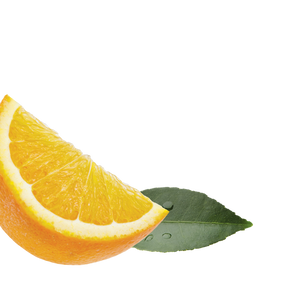 orange-ginger background image, left side