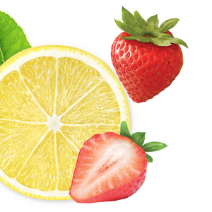 lemon-strawberry background image, left side