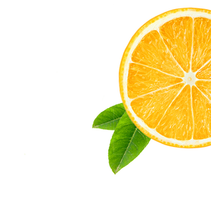 orange background image, right side