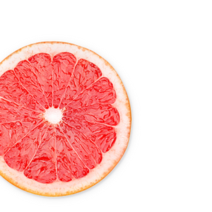 grapefruit background image, left side