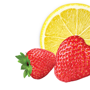 lemon-strawberry background image, right side