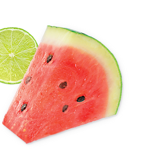 lime-watermelon background image, left side
