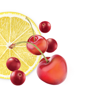 lemon-cherry-cranberry background image, left side