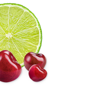lime-black-cherry background image, left side