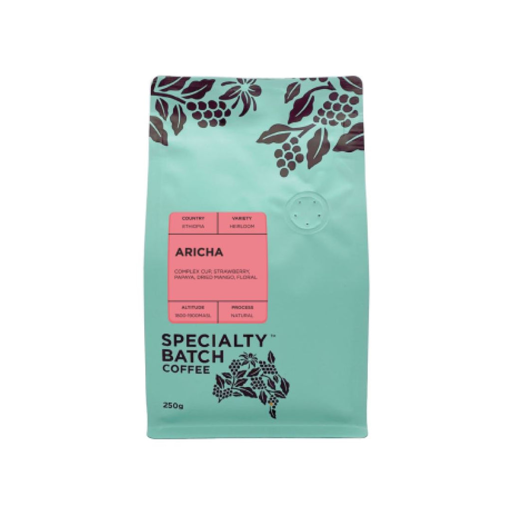 Ethiopia Aricha coffee bean bag