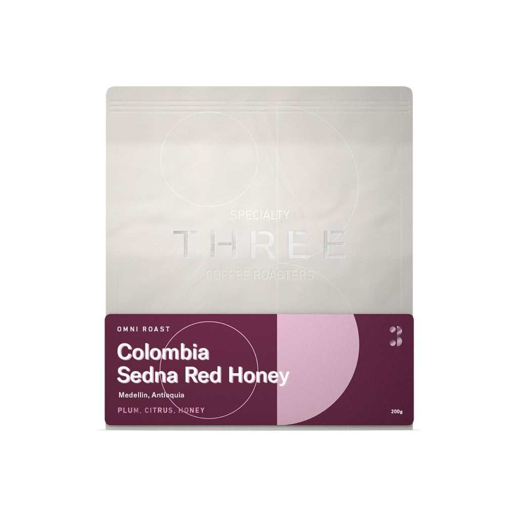 Colombia Sedna Red Honey coffee bean bag
