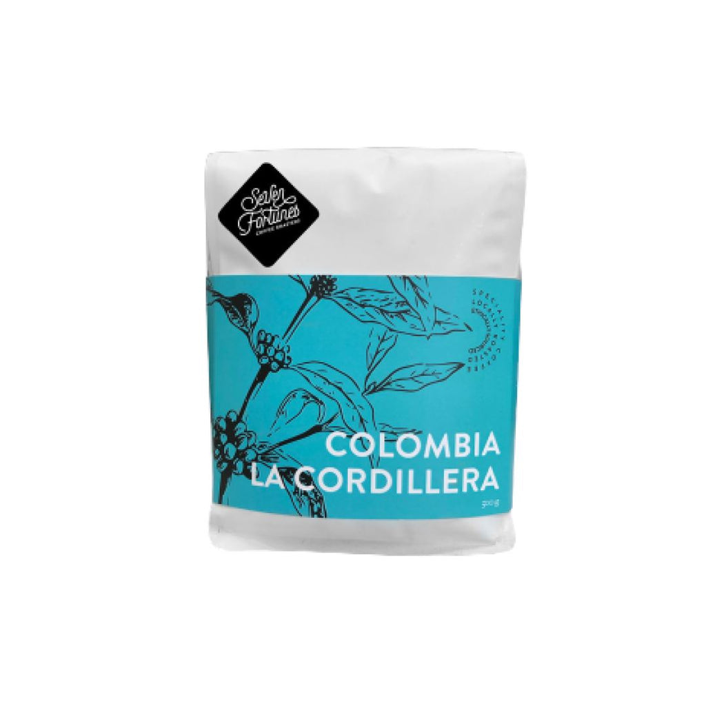 Colombia La Cordillera coffee bean bag