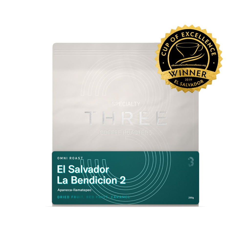 El Salvador La Bendicion 2 (Espresso) coffee bean bags