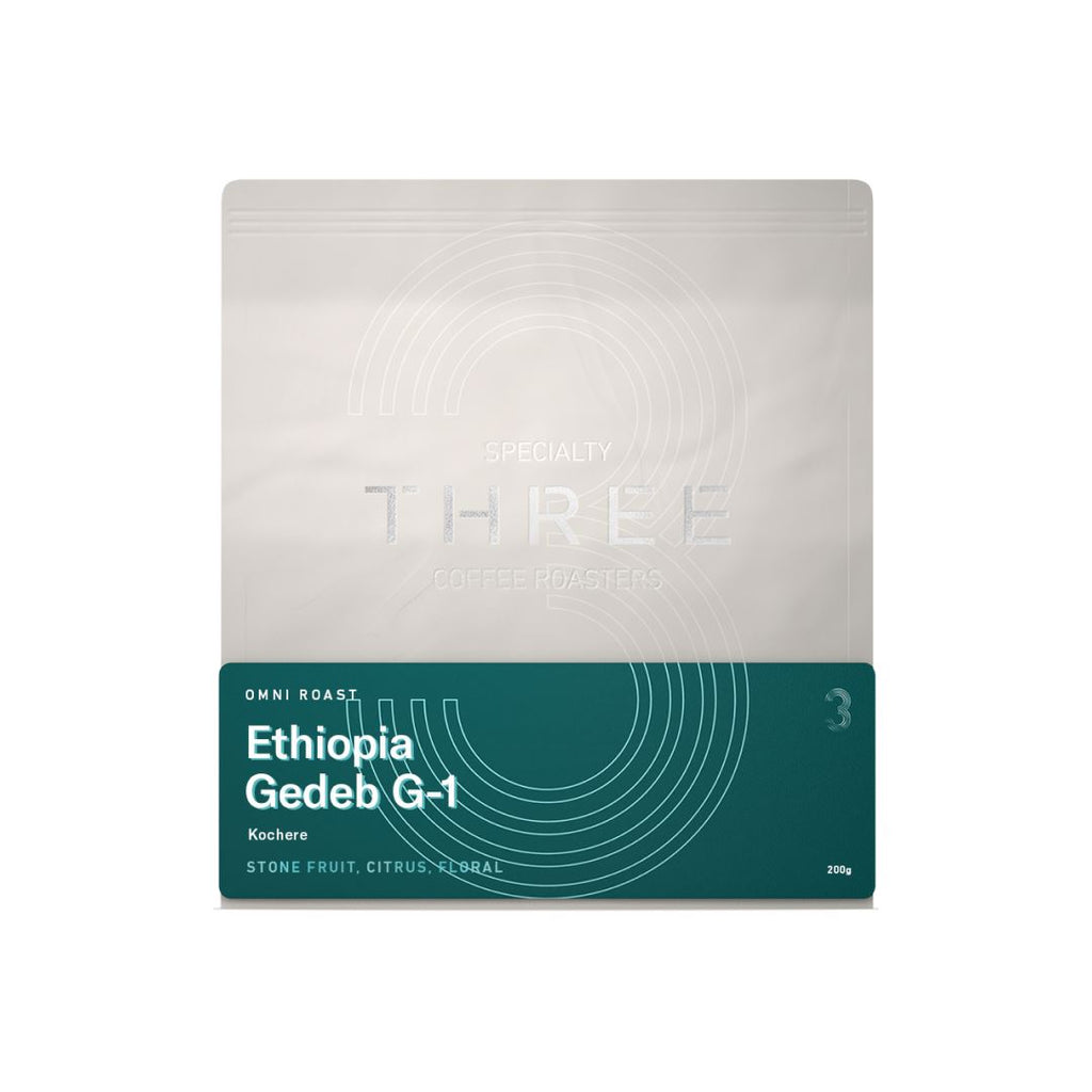 Ethiopia Gedeb G1 coffee beans bag