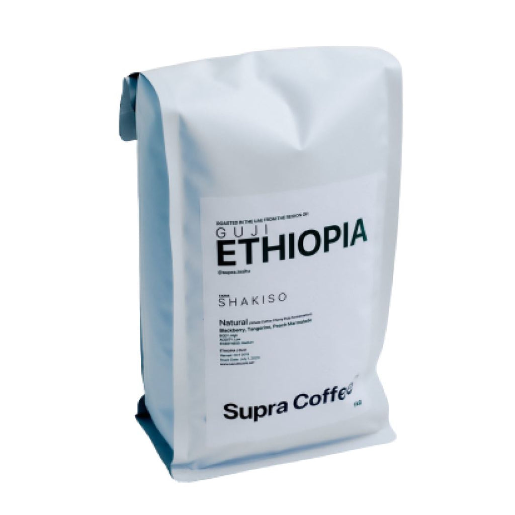 Ethiopia Guji Shakiso 1kg coffee bean bag