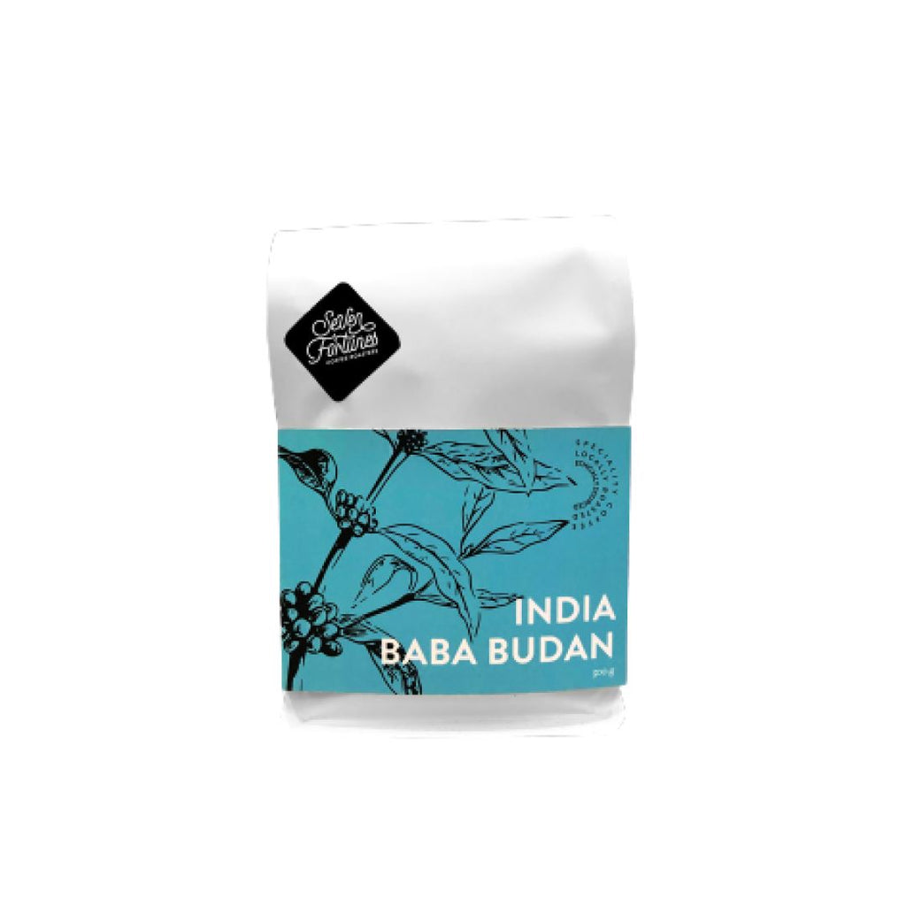 India Baba Budan coffee bean bag