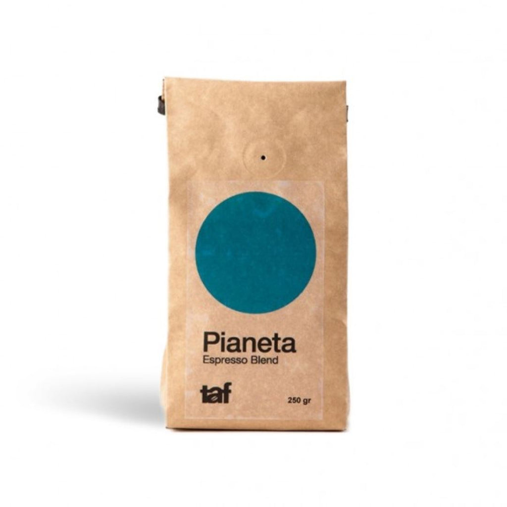 Pianeta Light Blue coffee bean bag