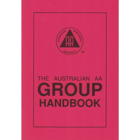 THE AUSTRALIAN AA GROUP HANDBOOK