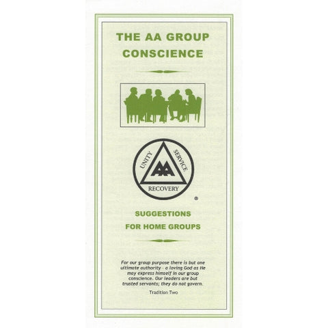 THE AA GROUP CONSCIENCE