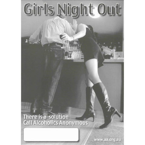 GIRLS NIGHT OUT - PUBLIC INFORMATION POSTER