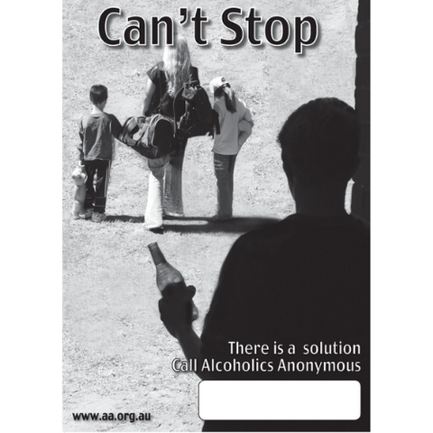 CAN'T STOP - PUBLIC INFORMATION POSTER