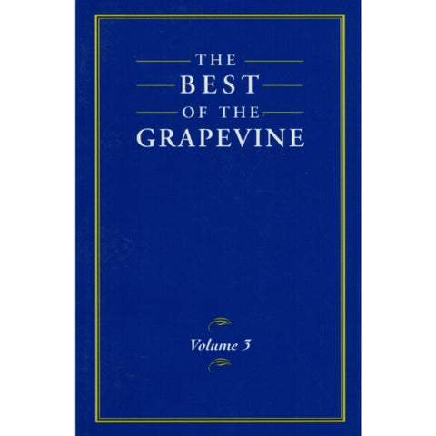 THE BEST OF THE GRAPEVINE: VOLUME 3