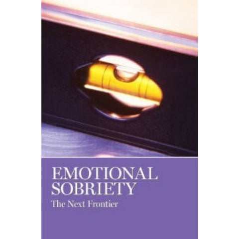 EMOTIONAL SOBRIETY I