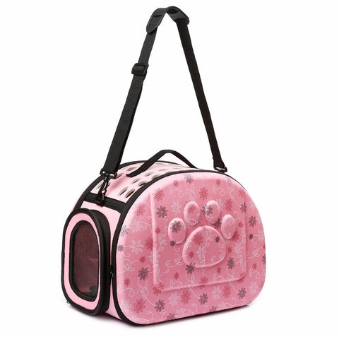 Pet Cat Dog Carrier Airline Approved Outdoor shoulder Bag