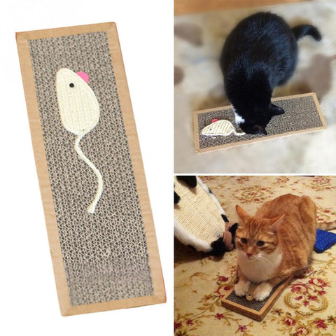 Pet Cat Sisal Hemp Cat Scratch Board Scratching