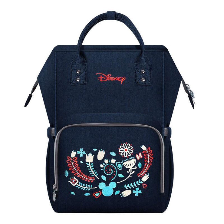 Hippomoo Diaper Bag Floral Disney Embroidered Diaper Bag