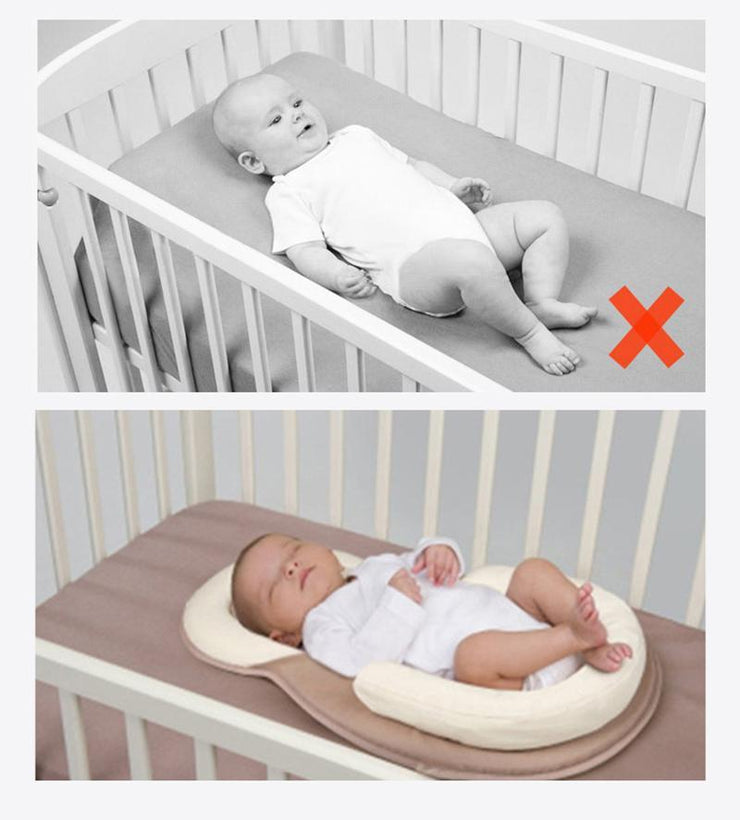 Hippomoo Folding Bed Creamy-white Portable Baby Folding Bed