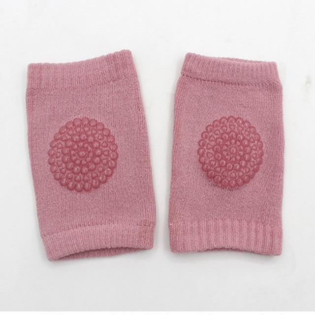 Hippomoo Pink Baby Cotton Knee Pads
