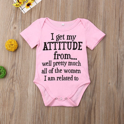 I Get My Attitude From.... Onesie