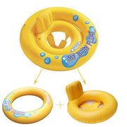 2 in 1 Baby Swimming Float - Baby Floats and Pools | Hippomoo