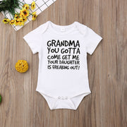 Grandma You Gotta Come Get Me Onesie