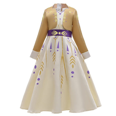 Golden Princess Dress
