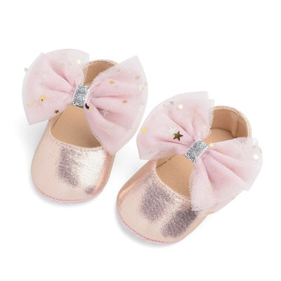 Sweet Bow Anti-Slip Baby Shoes