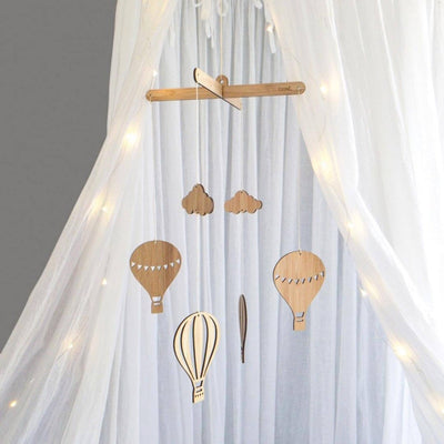 DIY Hot Air Balloon Nursery Mobile