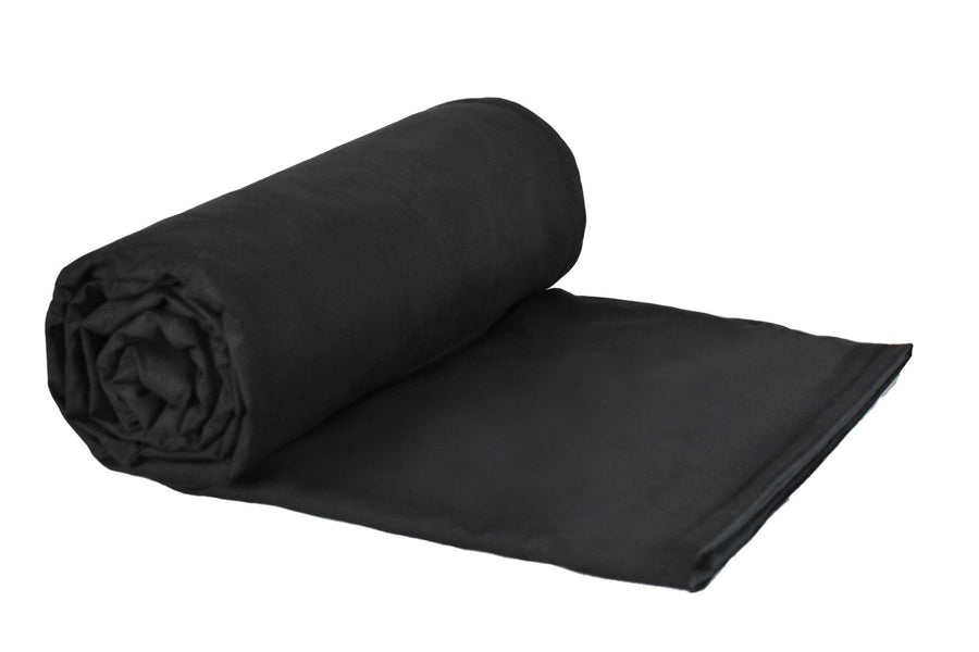 6lb Deluxe-Black Cotton/Flannel