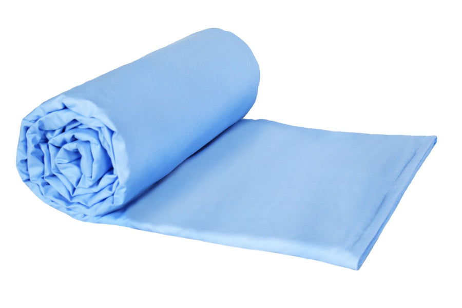 11lb Large-Light Blue Cotton/Flannel