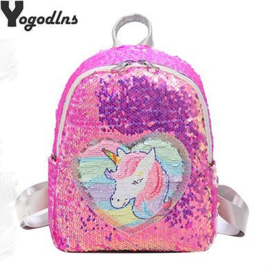 Sequins Unicorn Backpack