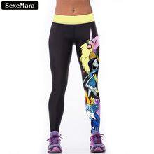 Time Unicorn Leggings Women