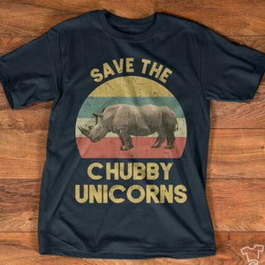 Chubby Unicorns Save The Chubby Unicorns Vintage