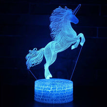 Romantic Unicorn Light 3D Lamp LED Night Light