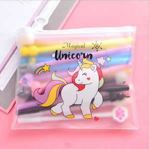Kawaii gel pen creative Cartoon cute Unicorn