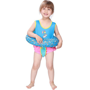 Megartico life vest child Inflatable Kids Trainer Floating Water Ring