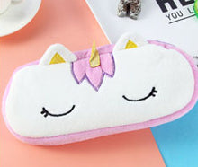 20CM Approx. Plush Unicorn Plush Stuffed DOLL Toy of Coin Pencil BAG Doll