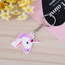 40pcs Unicorn Keychains Key Ring Decoration Party Favor Party Supplies Decorations (Random Style)