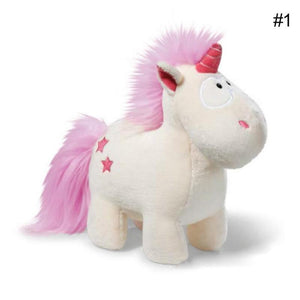 Unicorn Plush Fluffy Toy Lovely Stuffed Animal Doll Kids Gift