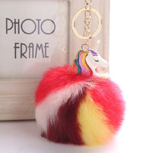 Anime Unicorn With Pom Pom Plush