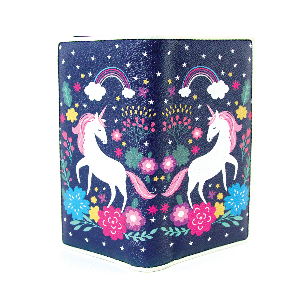 Dreamy Unicorn Wallet in Vinyl Material