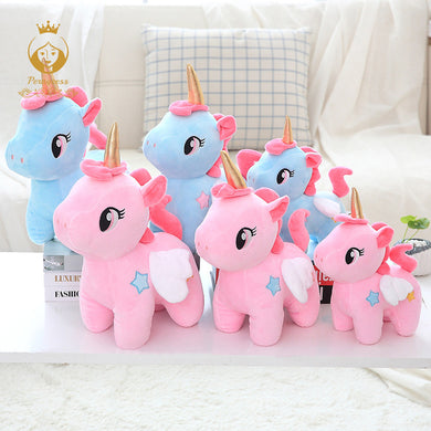 Cute unicorn plush toy
