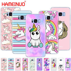 Rainbow Unicorn cell phone case cover for Samsung Galaxy S9 S7 edge PLUS S8 S6 S5 S4 S3 MINI