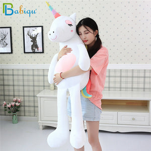 1pc 60-160cm Rainbow Unicorn Plush Toys