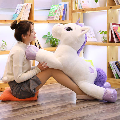 Cartoon Unicorn Plush Toy